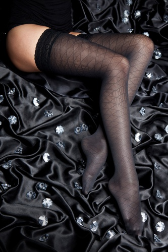 140 DEN PASSION THIGH-HIGH STOCKINGS